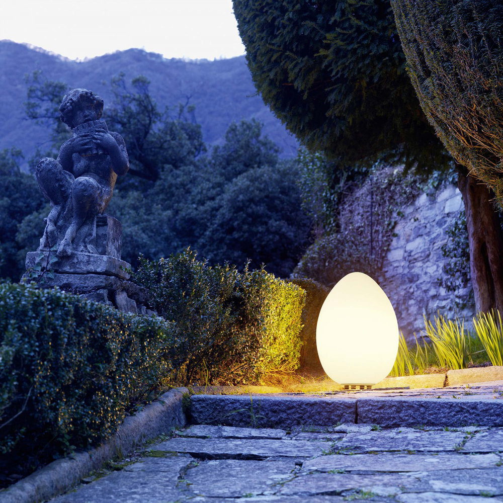 Fontana Arte Uovo Outdoor Light