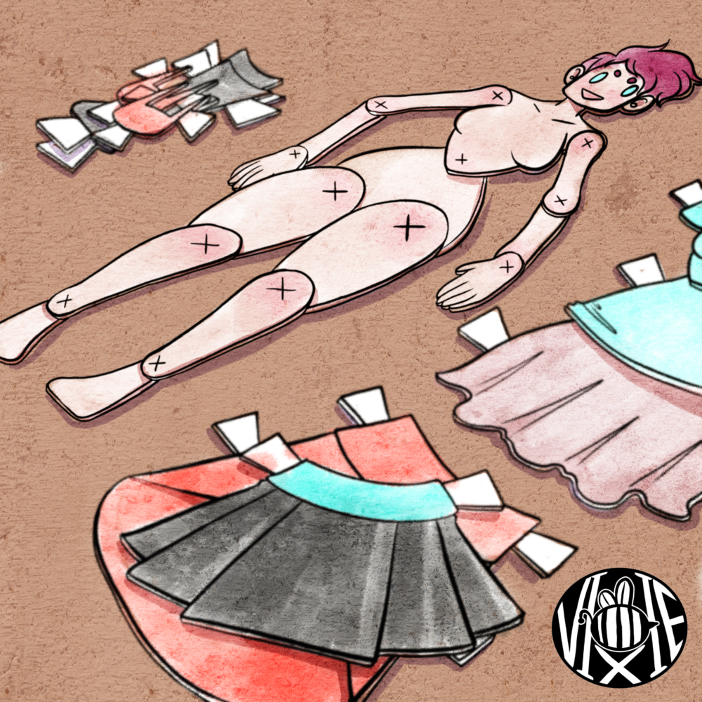 How-To Make a Paper Doll