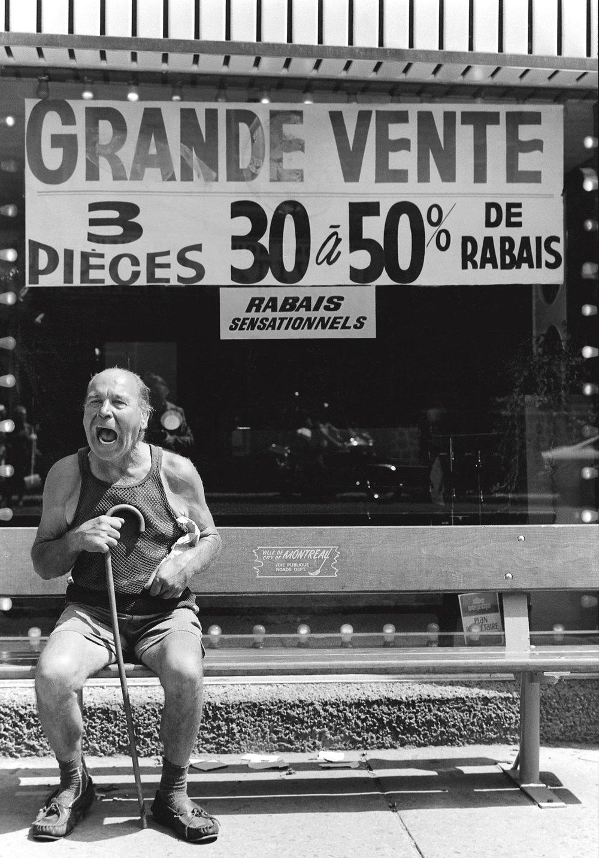 Rue Mont-Royal, Montréal 1977