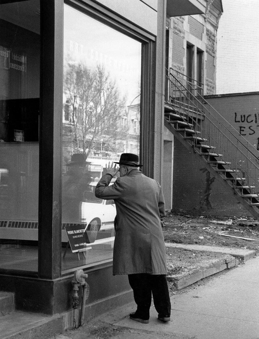 Regard oblique, Montréal 1987