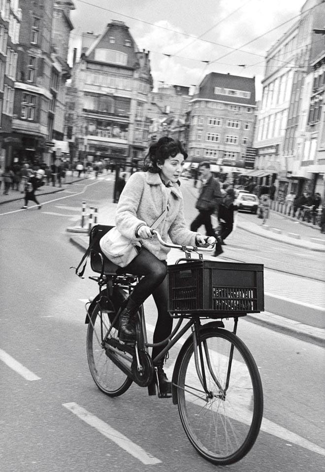 À bicylette, Armsterdam 1995