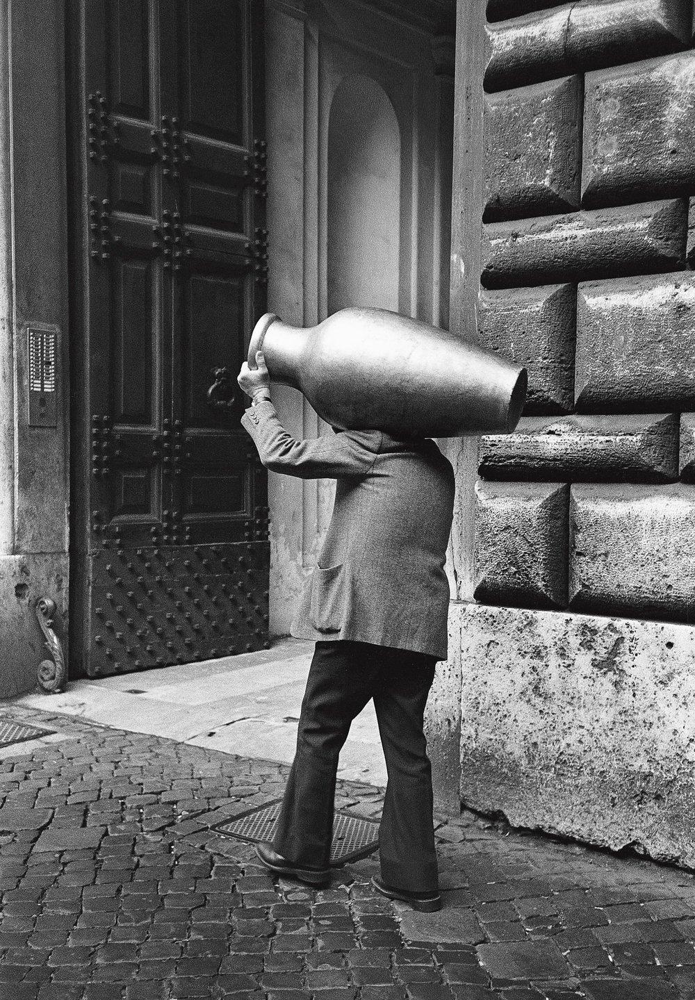 L'homme à la cruche, Rome 1984