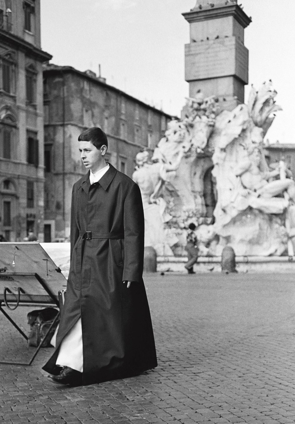 Le jeune moine, Rome 1984