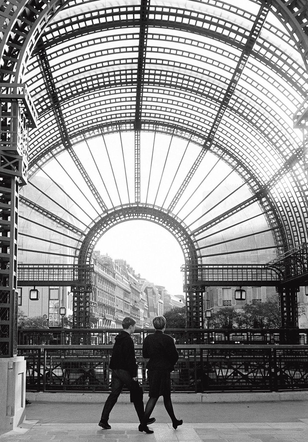 Les Halles, Paris 1988
