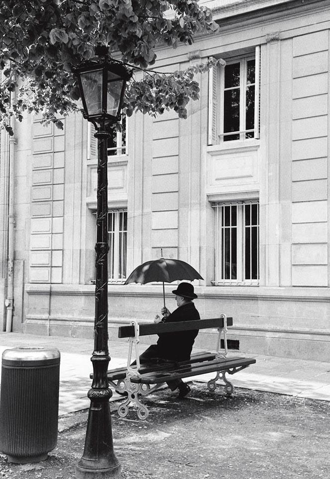 À l'ombre d'un parapluie, Paris 1994