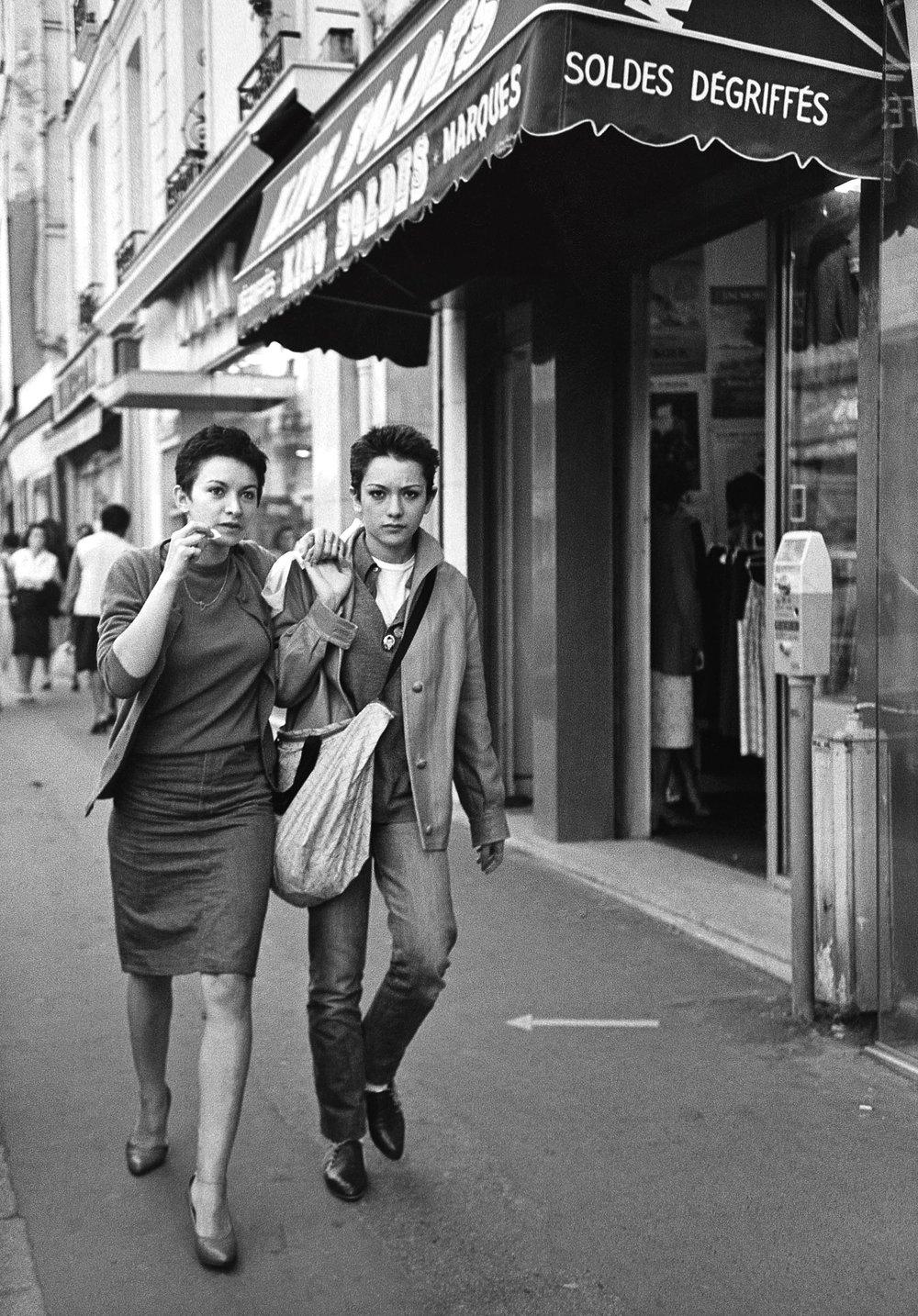 Soldes dégriffés, Paris 1980