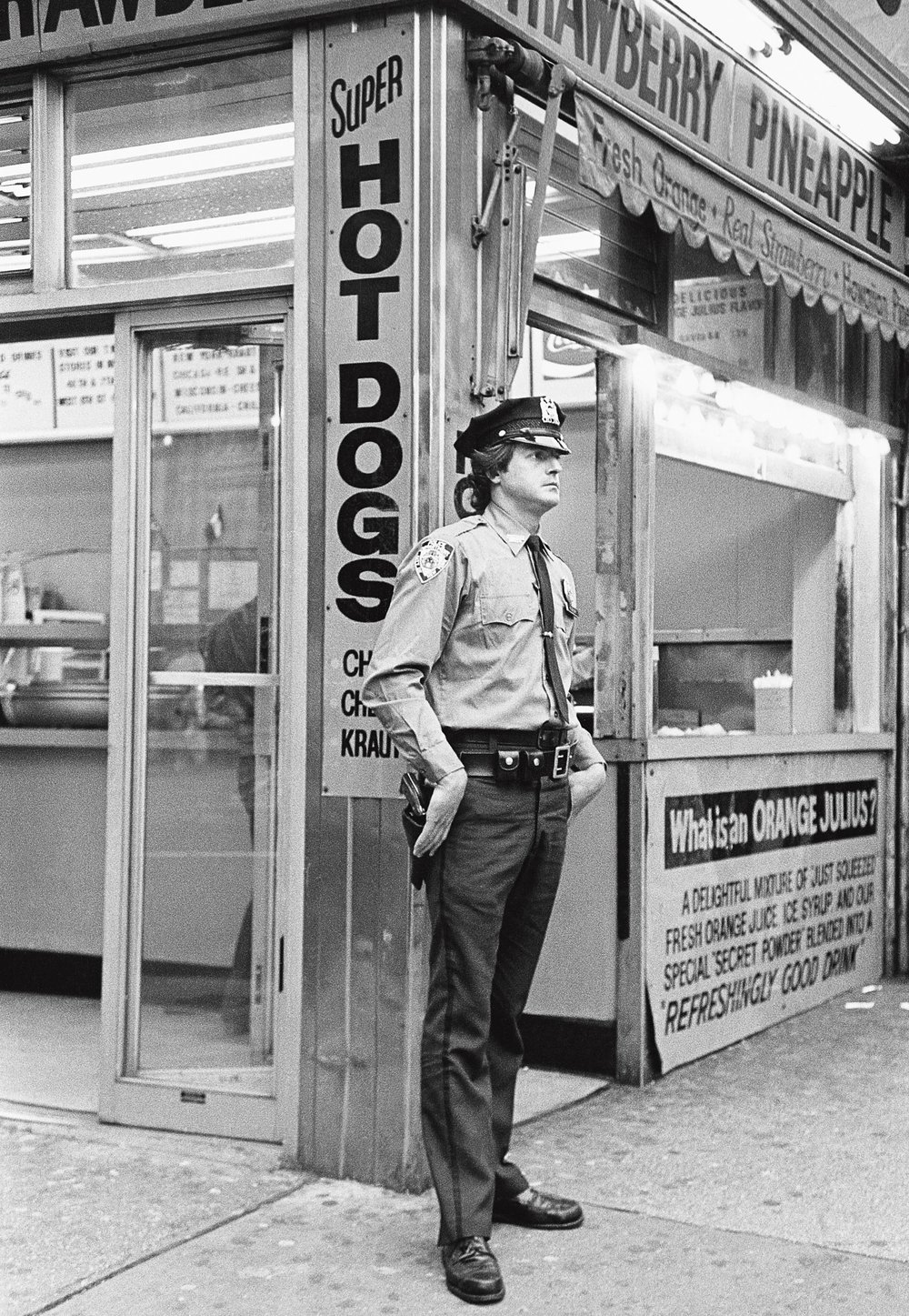 Le policeman, New York 1982