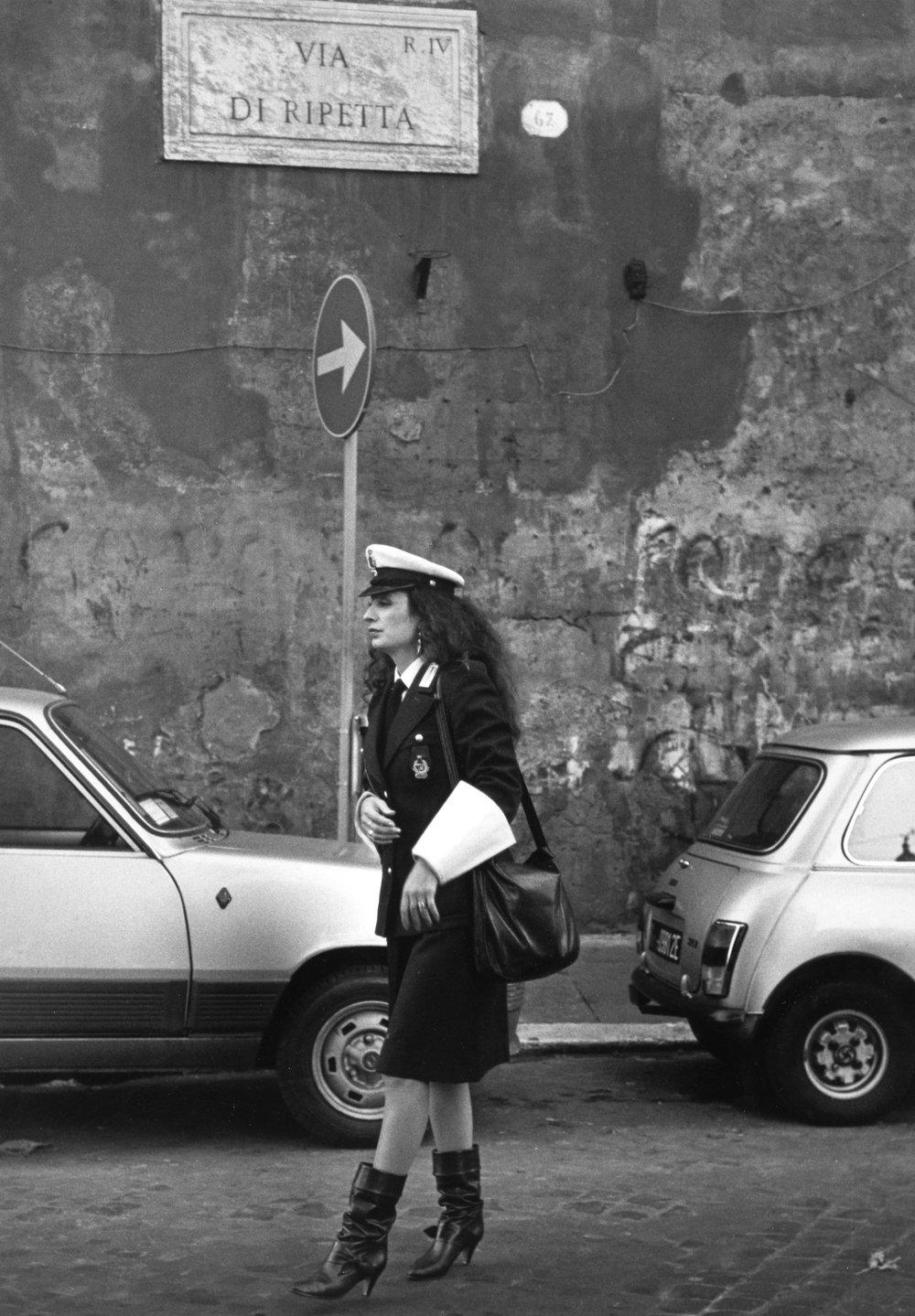Via Di Ripetta, Rome 1984