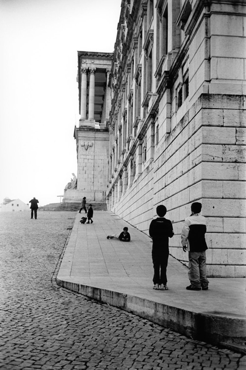 Le palais, Lisbonne 2002