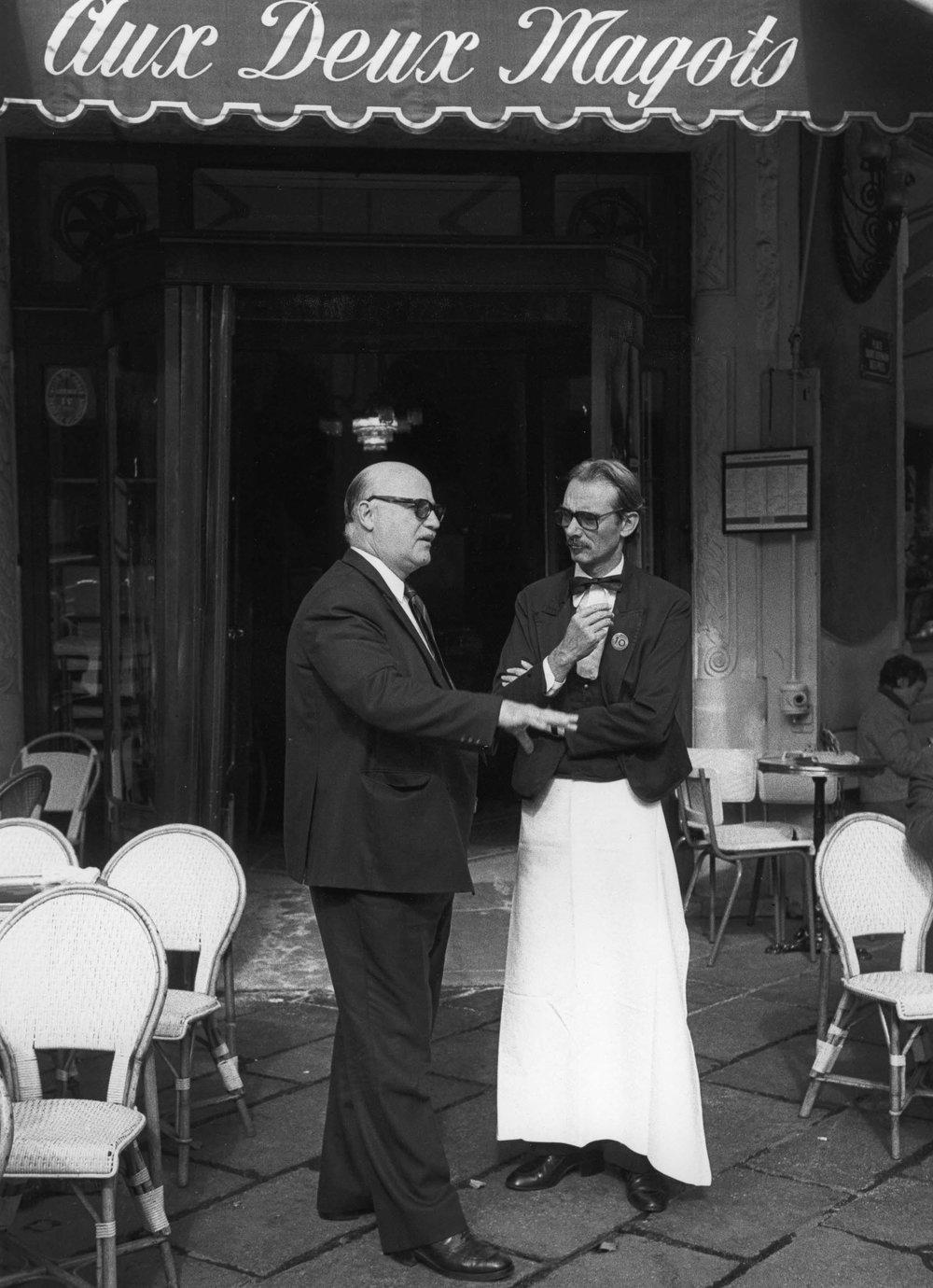 Aux Deux Magots, Paris 1980