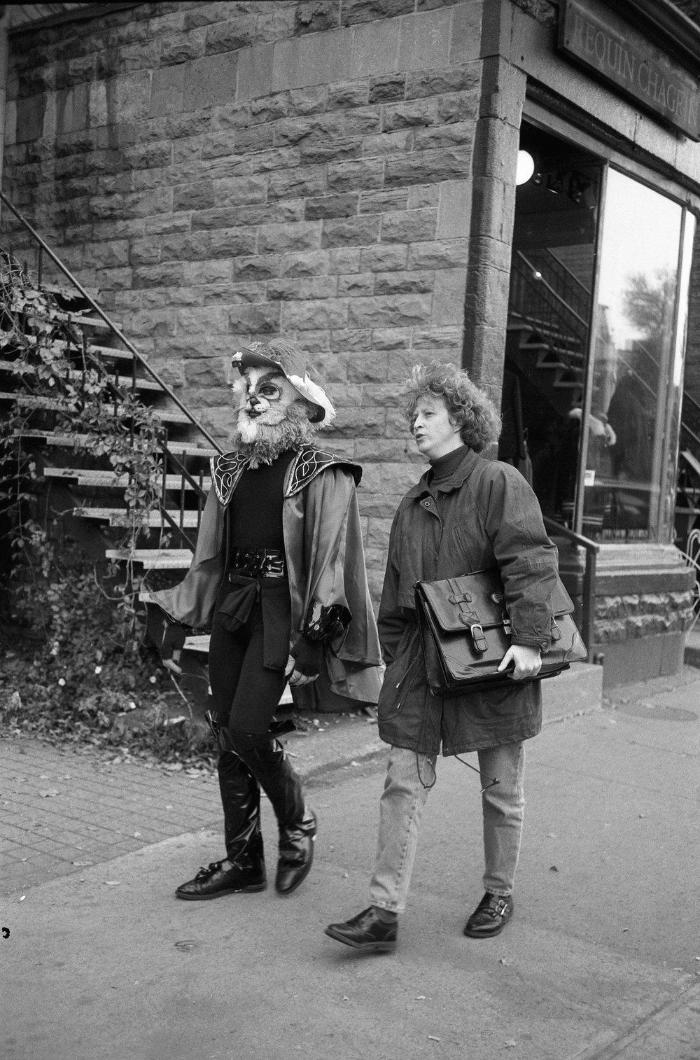 Le chat botté, Montréal 1994