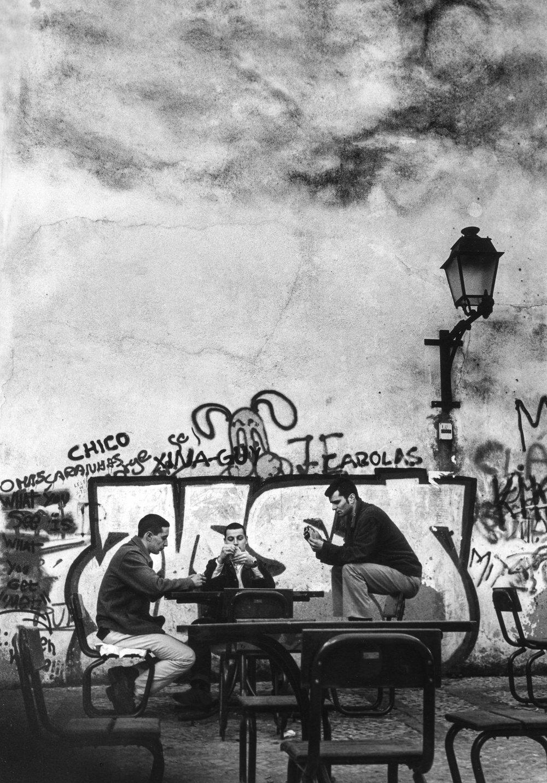 Joueurs de cartes, Lisbonne 2002