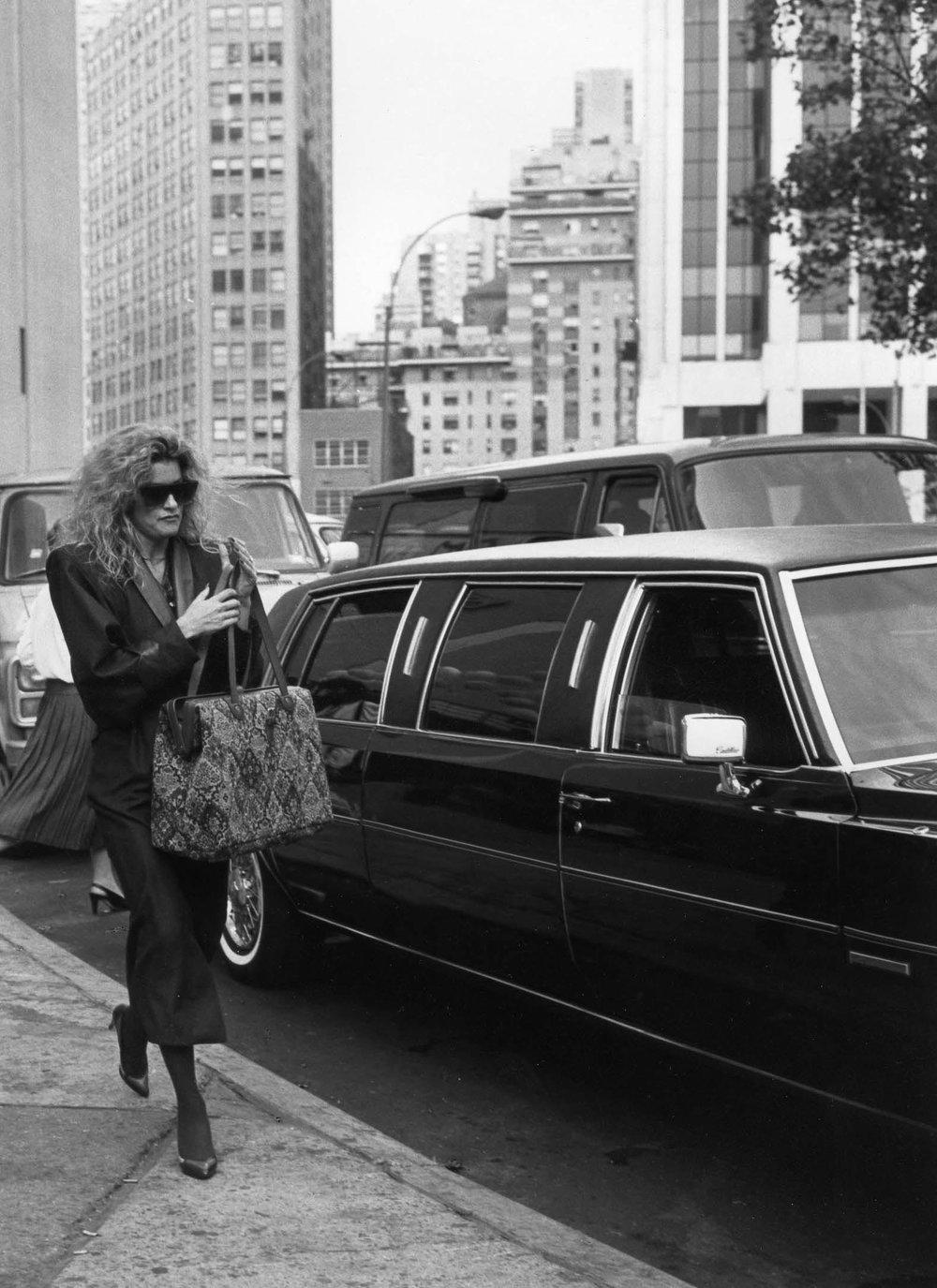 Limousine, New York 1985