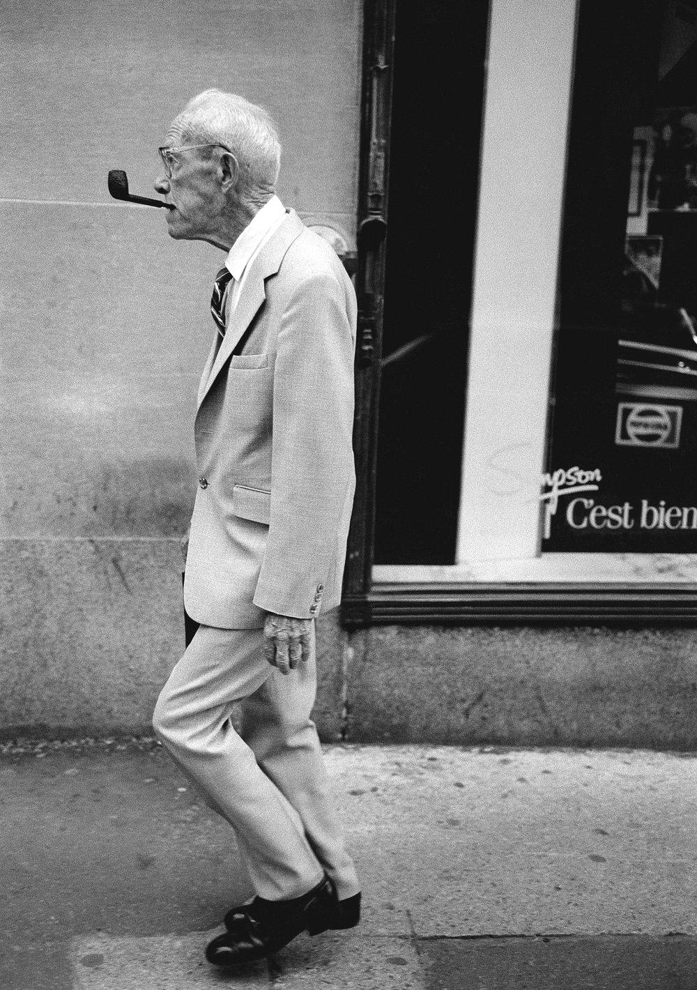 L'homme à la pipe, Montréal 1985