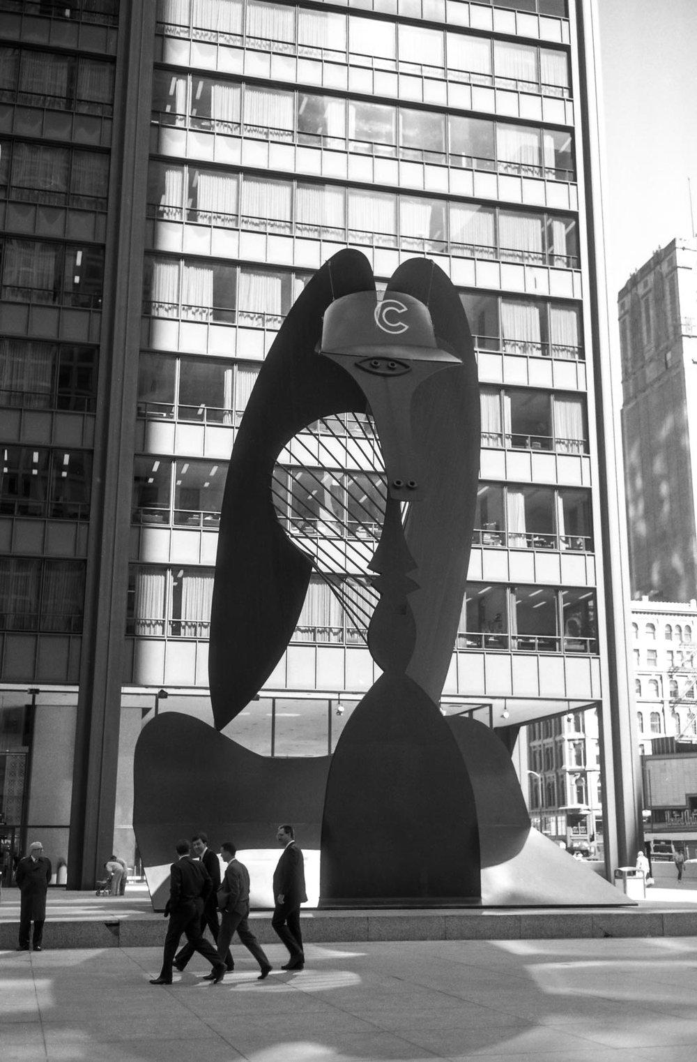La casquette de Picasso, Chicago 1989