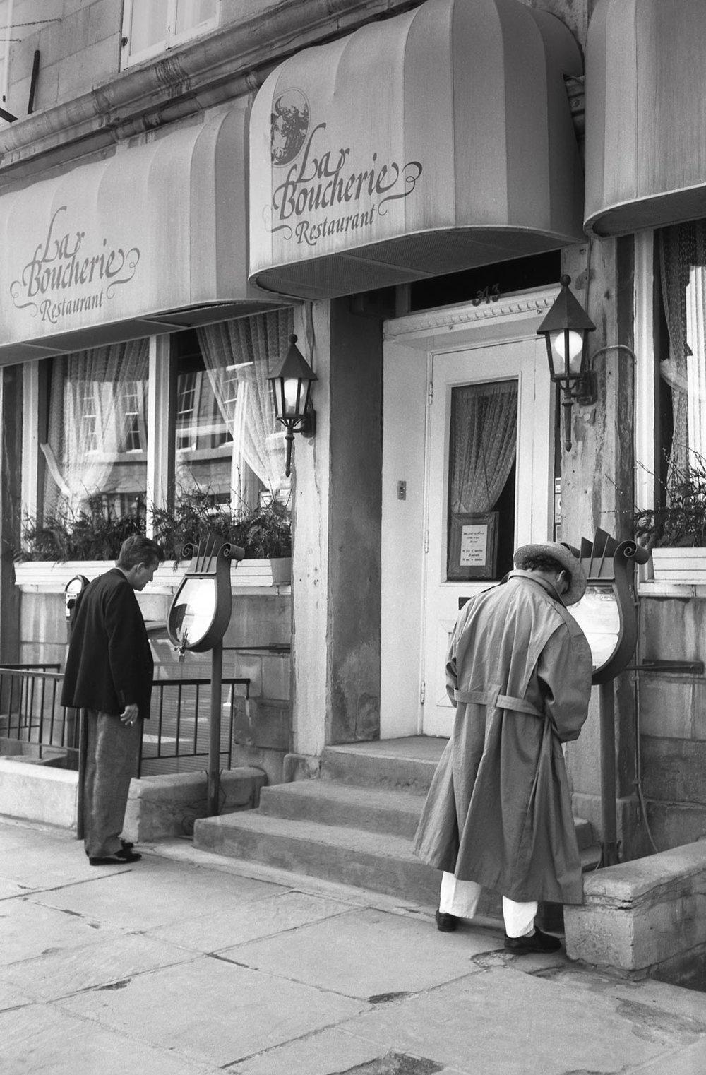 Les menus, Montréal 1987