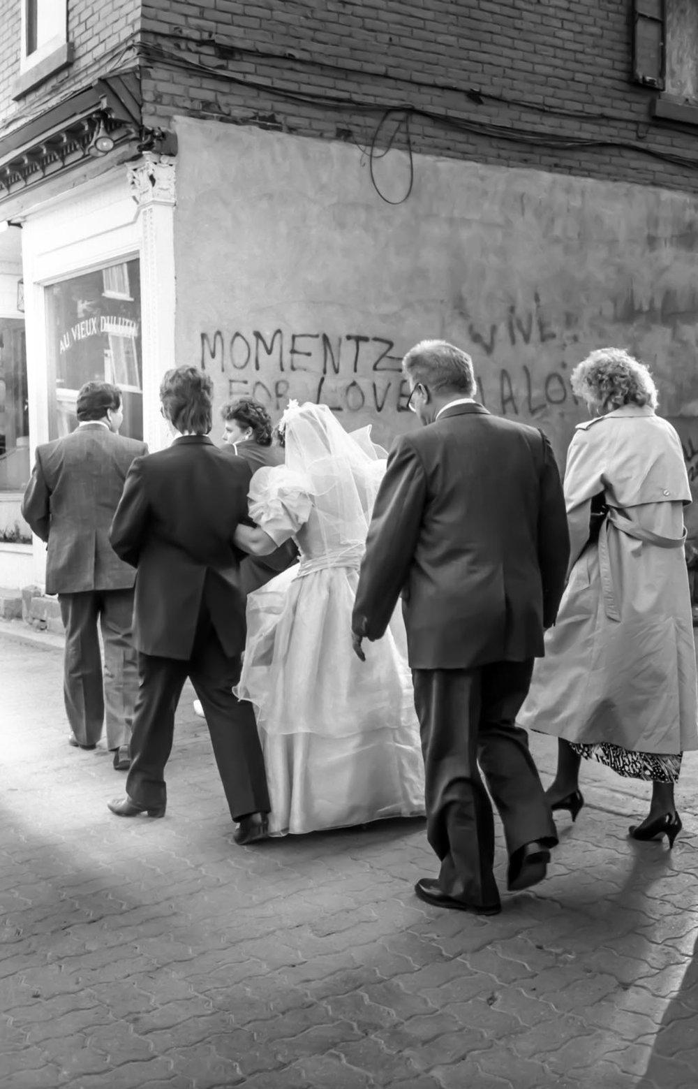 Le cortège, Montréal 1988