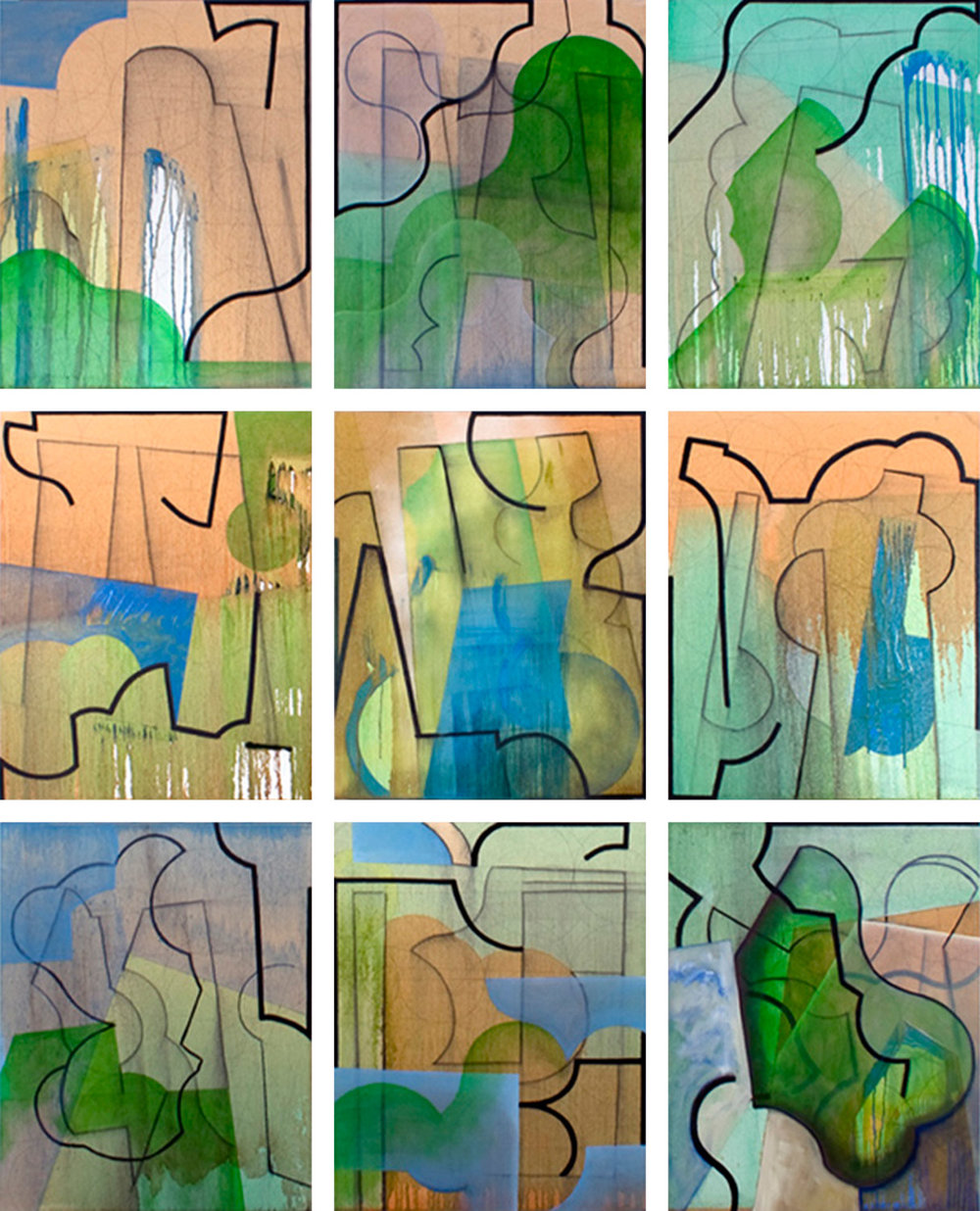 Ovidianism, 9 panels, Summer 2011