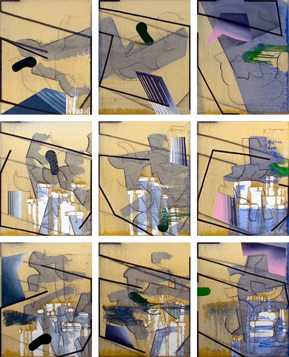 Metanoia, 9 panels, December 2011
