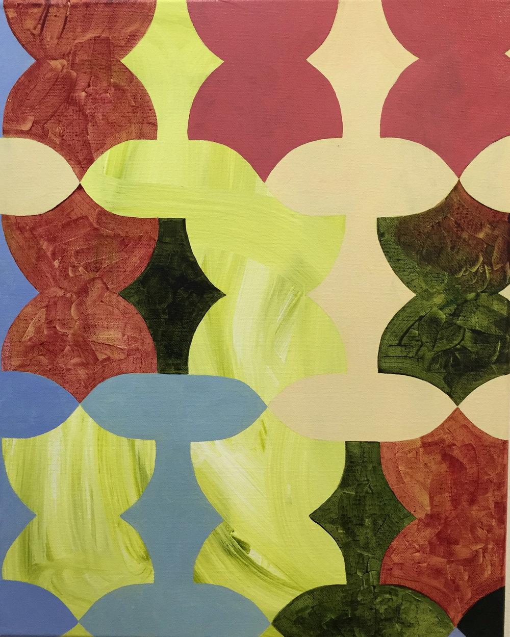acrylic on paper, 30x22, 2015