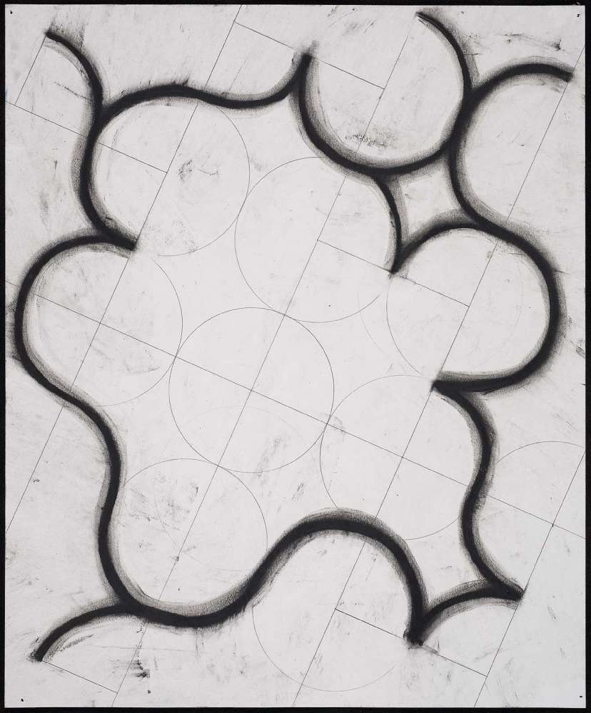 Nine Drawings from 9/11  (detail), 2001. Charcoal, graphite and wax on paper, 14x17""