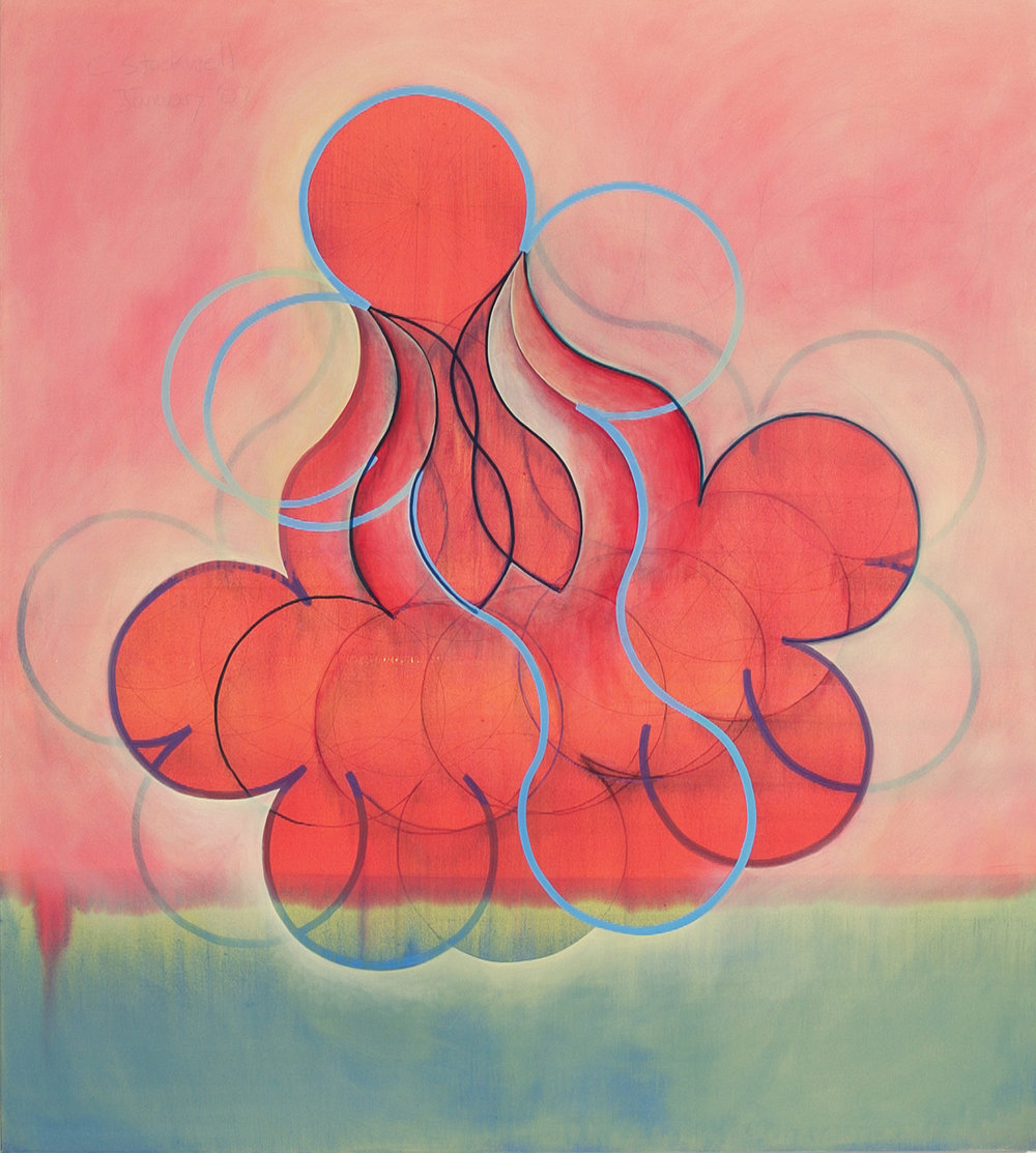 "Is a Woman , 2003, oil on canvas, 74"" x 68"""