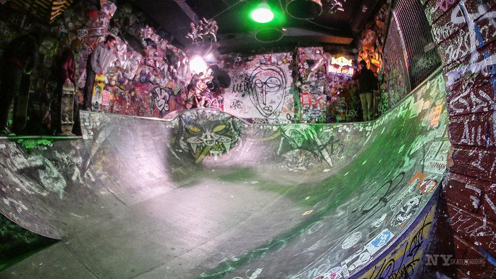 The concrete bowl- tight & fast