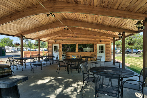 Our Community Boasts A Swimming Pool Fire Pits Horse Shoe Play Area Pavilion And The Grassiest Landscape Of Any RV Park