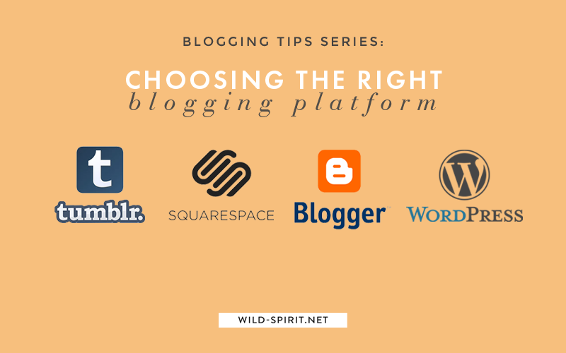 choosing the right blogging platform