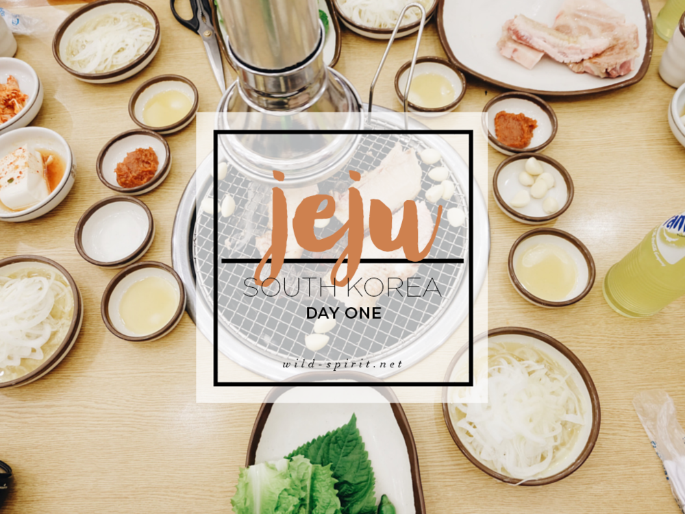 Jeju Day 1 Cover