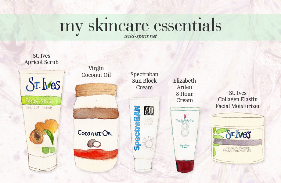 my skin care essentials