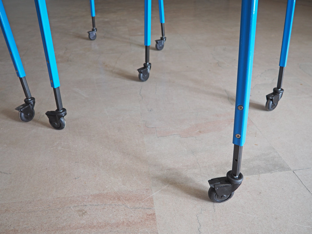 metal adjustable legs