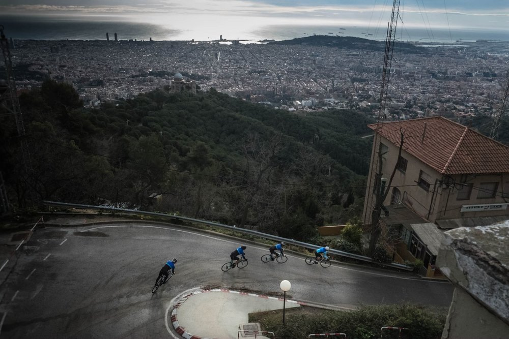 We are your domestique   We have experienced guides who will show you the most awesome views of Barcelona area.  You just need to enjoy riding.