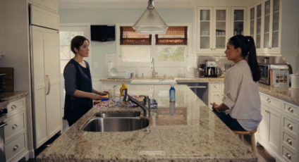 HOUSEKEEPER   This short film appears to be a classic switched places scenario – a white housekeeper and a Latina boss, but it becomes clear that the script can't flip completely.