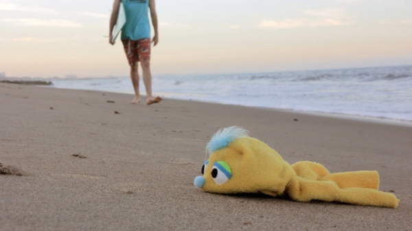 ADDY'S ODDYSSEY A depressed puppet seeks life advice from a philosophical surfer dude.