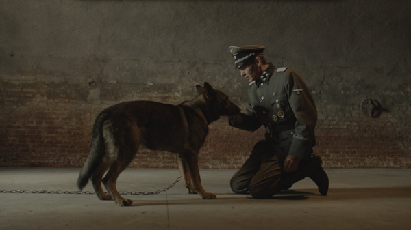 BRUTUS German Shepherd puppy grows in the usual family, loves his mistress. From a nursery Brutus as a watchdog gets into a concentration camp where the psychological manipulation and training turn a harmless pet dog into a killer.