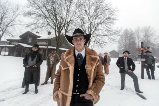 HIGH CHAPARRAL   A theme park celebrating America's mythic Wild West in wintery Sweden becomes a welcoming home for refugees fleeing the Syrian civil war.