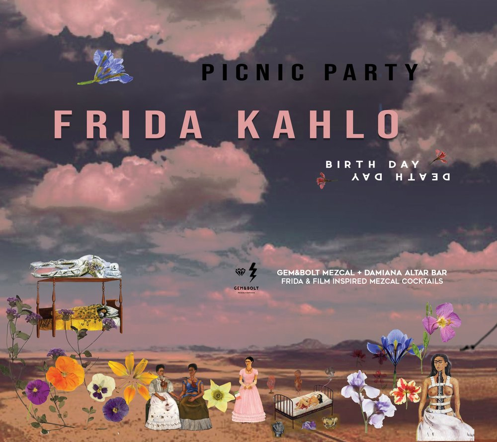 7PM FRIDA KAHLO PICNIC PARTY | MARFA GOLF COURSE - FRIDAY JULY 13TH • 7PM | MARFA GOLF COURSE