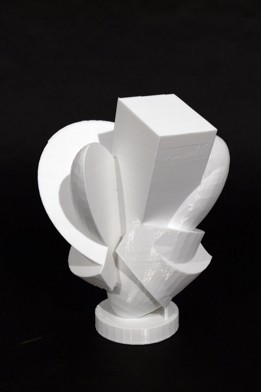 2016  3D printed PLA plastic