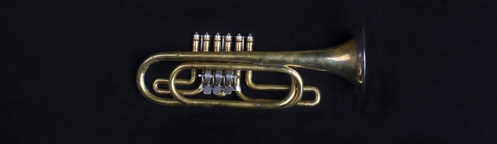 Vienna Valve Trumpet in G Alto, Leopold Uhlmann, Vienna, 1840