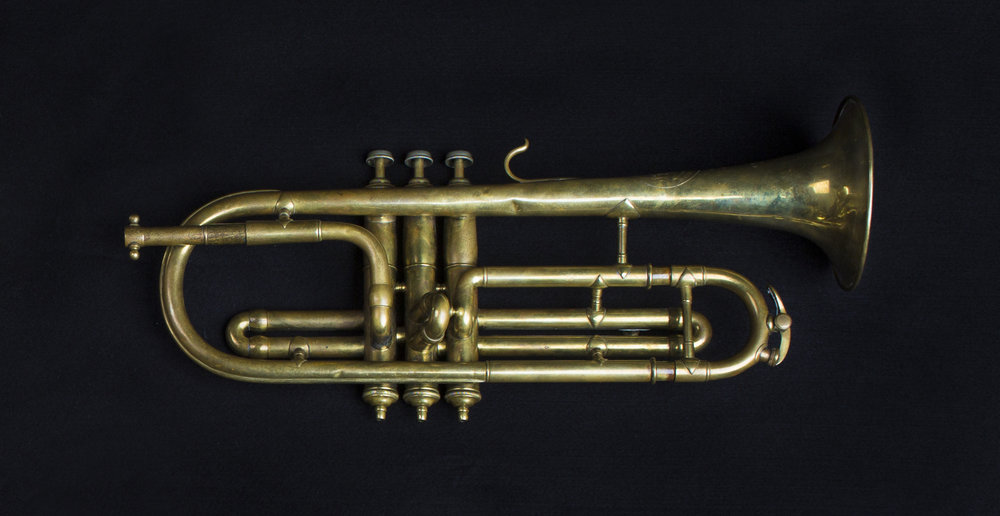 Mahillon, Brussels, Trumpet in B flat. 1885