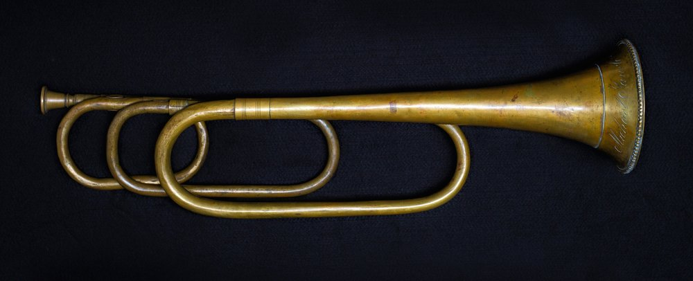 Natural trumpet by Michael Saurle, Munich, c. 1810