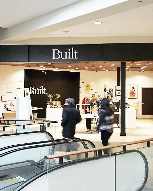 Rushing about trying to get some last minute Holiday Shopping done? You still have time to shop Built, a collection of goods from the Student Design Association in Kingsway Mall. Today's you last chance so hop to it Edmonton!