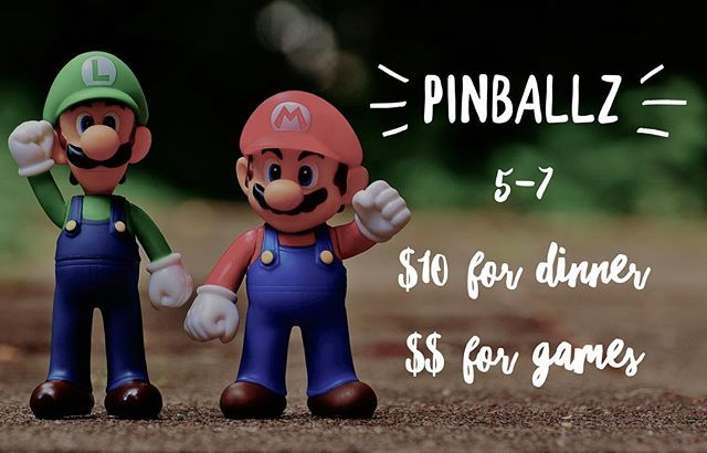 See you tonight! Bring $10 for dinner and your quarters for games!!