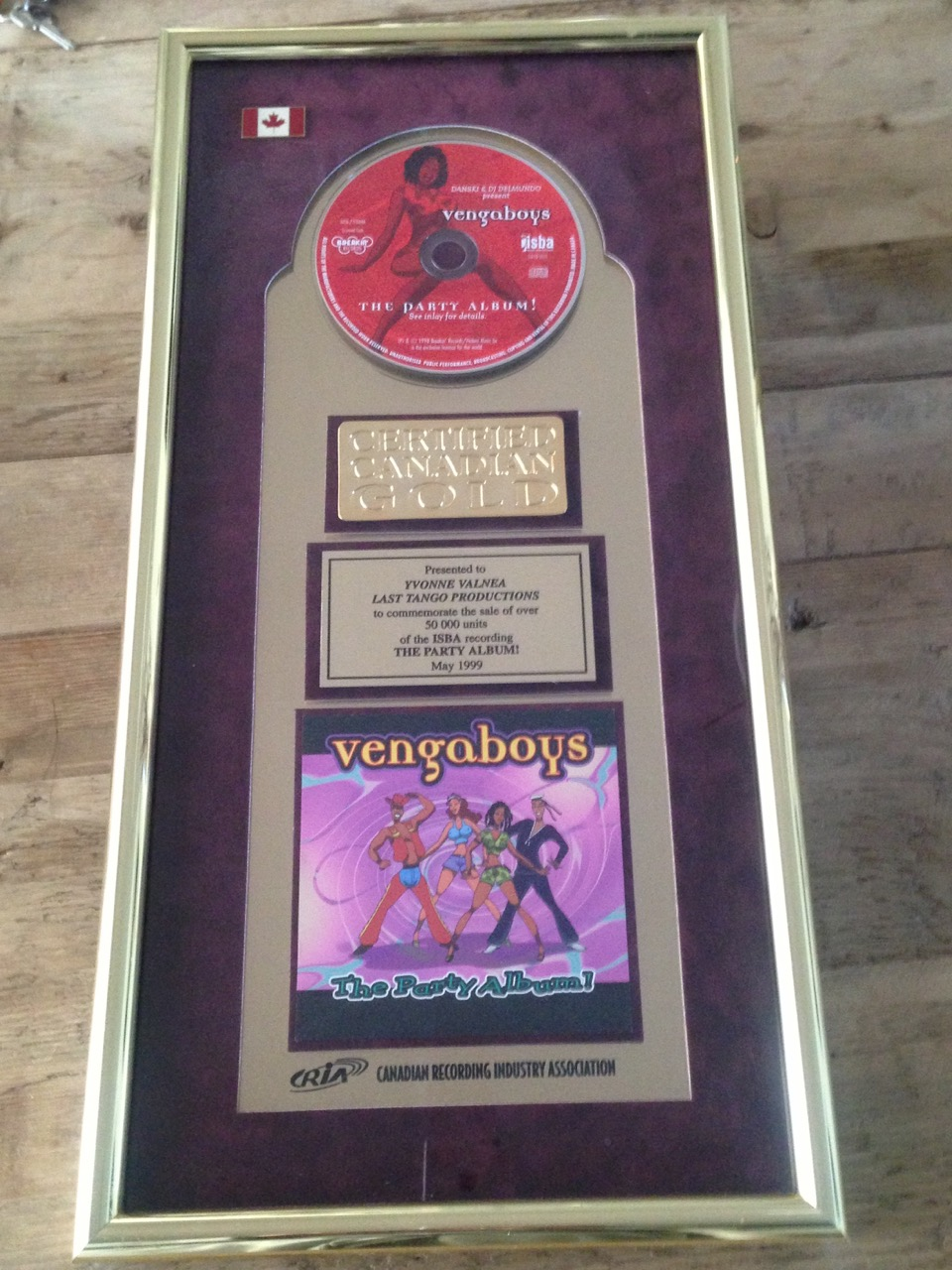 Vengaboys go Gold in Canada