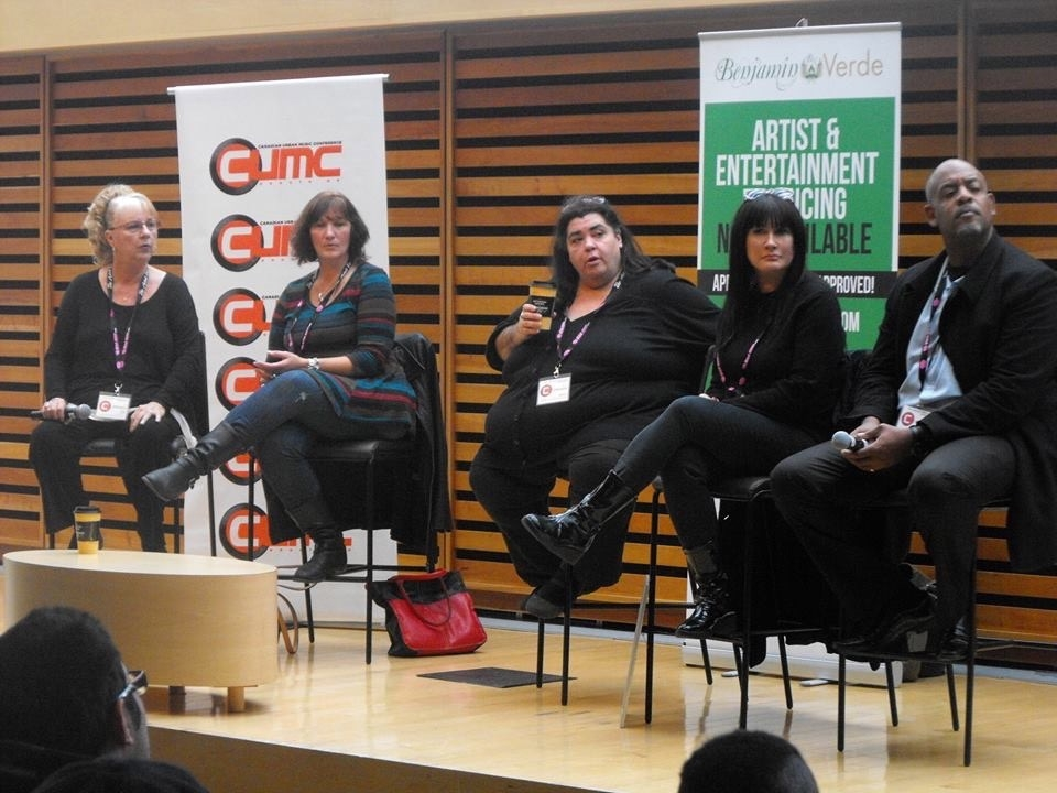 Last Tango on the panel for Urban Music Conference