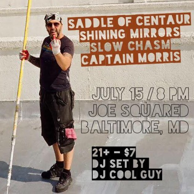 Last show in Baltimore for a while. Let's go out with a bang! 💥 💥 💥