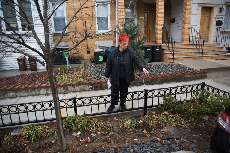 Many residents see early generation of green infrastructure as an eyesore. I don't blame them. Image by Kevin Hagen for the New York TImes
