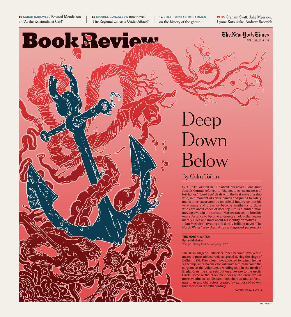New York Times. Art Directors Matt Dorfman and Andrew Sondern.  Click here for Article.