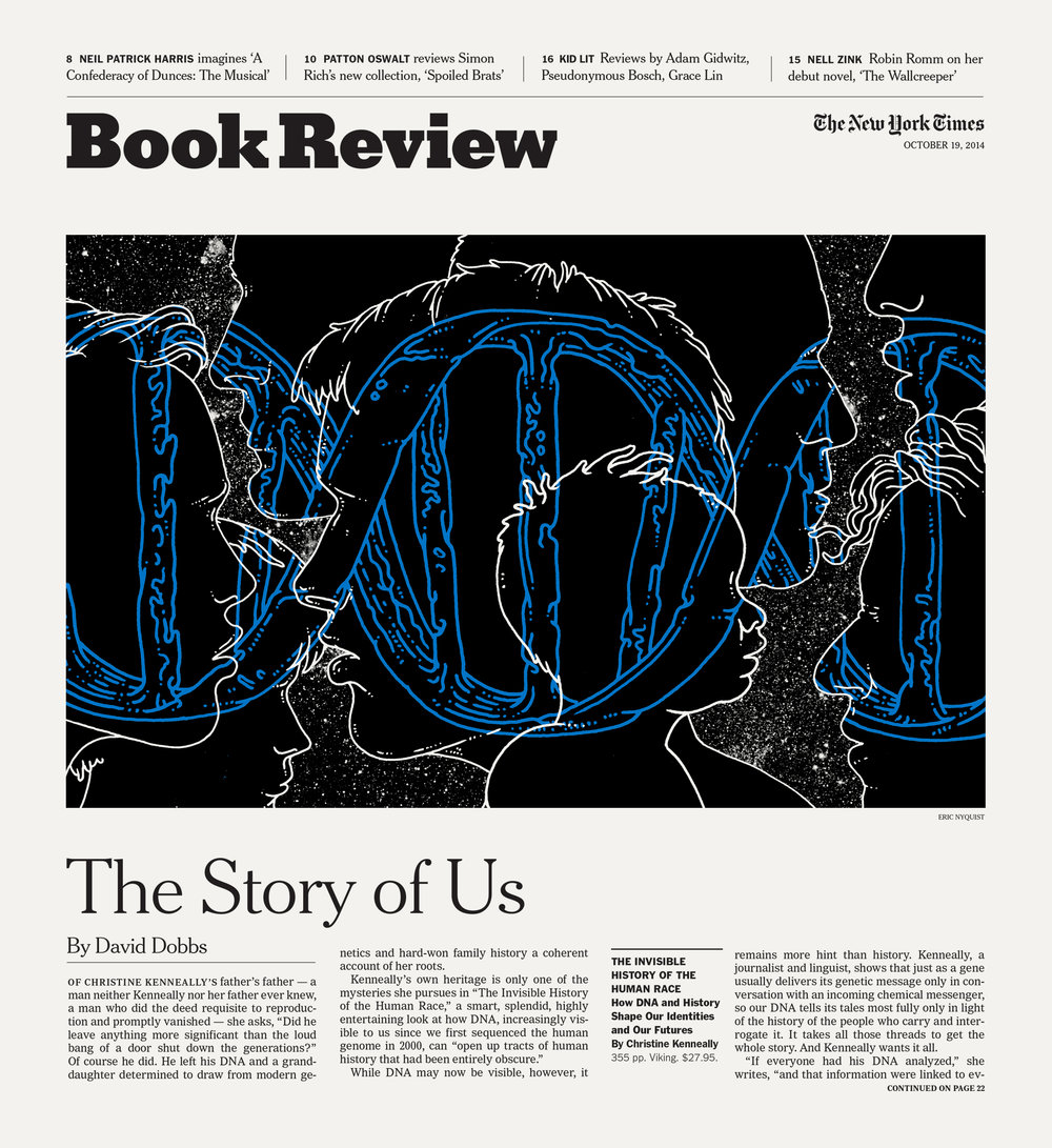 New York Times. Art Director: Nicholas Blechman. For Article  Click Here.